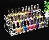 LA VIE Porta Smalto Acrilico Rastrelliera Espositore Professionale per Smalti Organizzatore Trucco Beauty Case Accessori Trucco 3 Piani