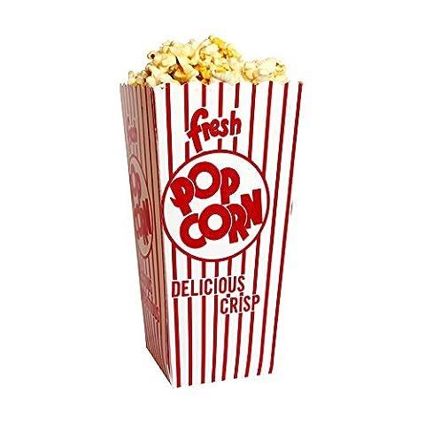 Snappy Popcorn 48E Open Top Popcorn Box 100/Case