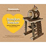 Rosewood 19361 Boredom Breaker Aktivitäts-Kletterturm für Kleintiere