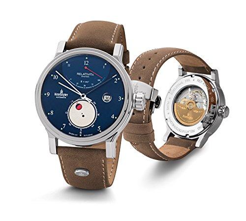 kronsegler-orologio-einstein-relativity-acciaio-blu