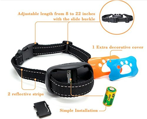 WIZCO-Barking Control Collar. Stops Dogs Barking Humanely 5