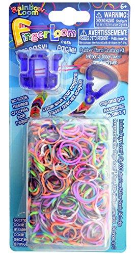 Official Twistz Bandz Rainbow Loom Rubber Bands Official Rainbow Loom Finger Loom PURPLE