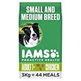 Iams Adult Small/Medium Breed Chicken Dog Food 3kg