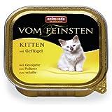 Animonda vom Feinsten 83221 Kitten mit Geflügel 32 x 100 g Schale