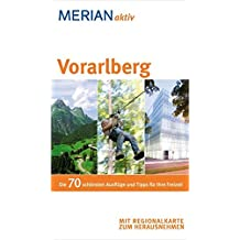 MERIAN aktiv Vorarlberg: Freizeitführer mit herausnehmbarer Faltkarte