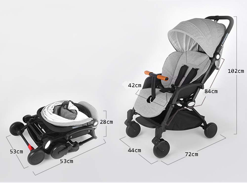 MYRCLMY Baby Double Stroller, Twin Baby Strollers Lightweight 5-Point Safety System Canopy UV Protection Independently Reclining Seats Easy Fold Storage Basket Drink Holder Tray,Black  *LIGHTWEIGHT - Travel-friendly lightweight design is perfect for traveling and day trips. *FREEDOM OF SEPARATION - can be used by single person, can be used by two people, quick release design of connector, free to split and more convenient to use. *RECLINING SEAT -- Reclining seat offers 5-point safety restraint system and accommodates child to 50KG per seat. 3