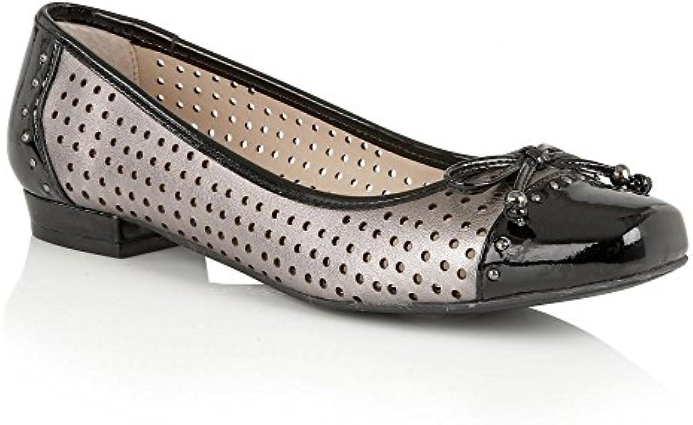 Donna  Uomo Lotus Ballerine KEILAH peltro metallizzato Intelligente e pratico Tocco confortevole Buona qualità | Esecuzione squisita  | Gentiluomo/Signora Scarpa