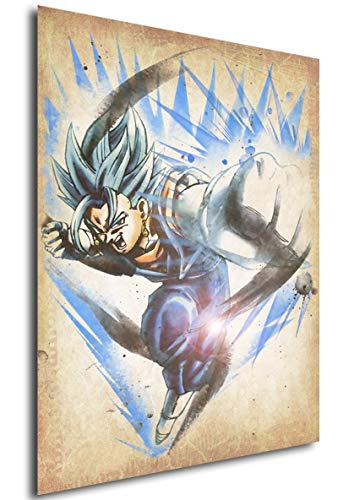Instabuy Poster Dragon Ball Wanted Vegetto SSB Variant - Formato A3 (42x30...