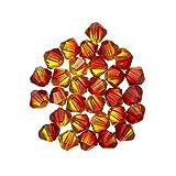 Swarovski perles toupies cristal 4mm (237) Fire Opal pk30