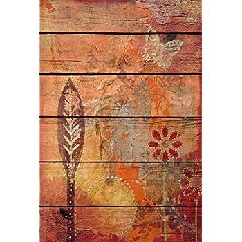 Attenzione ai venditori cinesi sono falsi Acquista solo se inviato da Arte Stock Quadro in legno 60 x 40 cm Laminato verniciato con effetto pal/é