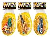 VEDES Großhandel - Ware 0041603887 OA Baustellenhelm mit Werkzeug, 12 teilig