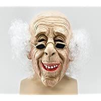 Bristol Novelty Bm235Old Man Maske und Haar Maske, eine Größe