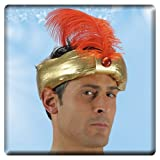 Turban Hindou, Maharaja Prince Indien Prince Hat Tissu Tndien