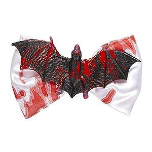 WIDMANN pajarita murciélago ensangrentar para Adultos, Color Negro, Talla única, vd-wdm05663