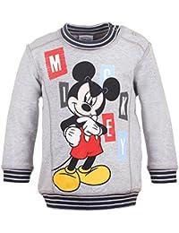 DISNEY Niños Mickey Mouse Sudadera, gris vigore claro