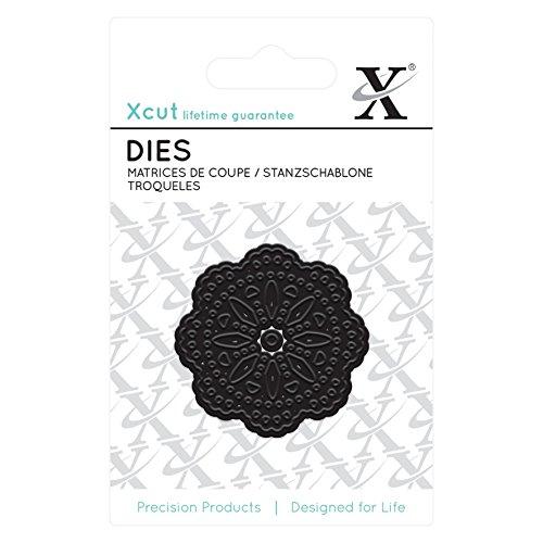 Xcut Alphabet-Dies/Alice Distanzhülse/Schnitt-Detail-Schablone, Metall, Schwarz, 0.1 x 5 x 4 cm (Schnitt-schablonen Die)
