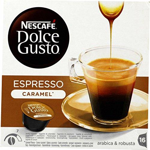 NesCafé Dolce Gusto ESPRESSO CARAMEL - 16 Capsules - 83,2g
