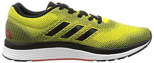 adidas Mana Bounce 2 M Aramis, Chaussures de Running Homme, EU Bright Yellow / Core Black / Core Red
