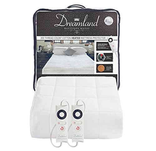 Dreamland Boutique Dual Control Electric Blanket - Double Best Price and Cheapest