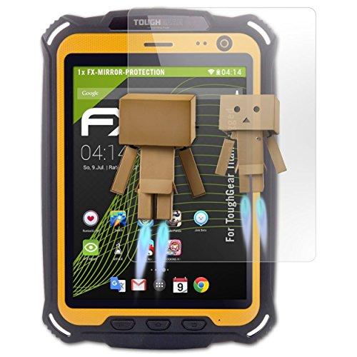 atFolix Bildschirmfolie kompatibel mit ToughGear Titan Rugged Spiegelfolie, Spiegeleffekt FX Schutzfolie