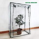 kingpo Garden Invernadero Tomate Invernadero PVC Planta Cubierta Mini Invernadero Casa portátil