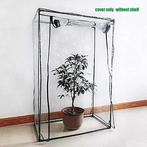 Currentiz Mini Klare Gewächshaus PVC Pflanze Abdeckung Warme Blume Pflanze Wachsen Gewächshaus Tomaten Garten Zelt Geeignet Für Gestelle Kleiner Als 100 50 150
