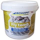 schopf 302216Fly Tomb 4gr insecticida concentrado contra moscas Larven, 500g para aprox. 100M²