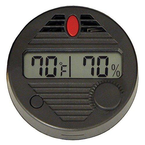 Quality Importers Hygroset II Round Digital Hygrometer