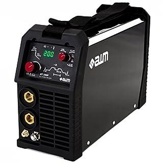 AWM Schweißgerät 200A IGBT Inverter MMA WIG TIG, Pulse, Hot-Start, HF - LIFT Zündung, 2 Takt / 4 Takt, Anti-Stick, ARC Force, DC, Digital Anzeige, MT-200P
