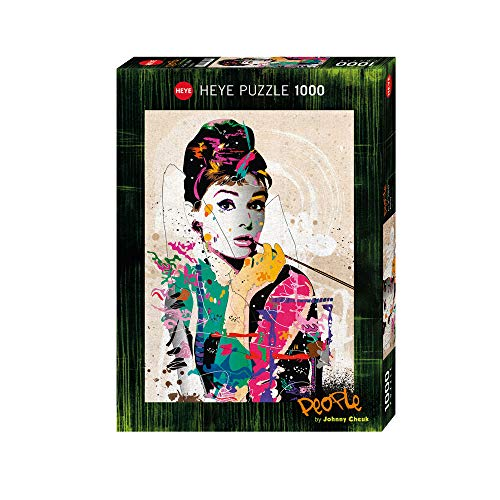Heye 29684 - Standardpuzzle, Johnny Cheuk, People Audrey, 1000 Teile