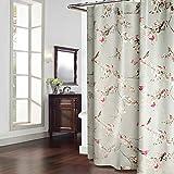 Duschvorhänge,Bad Trennwand Vorhang Wasserdicht Anti Schimmel Verdicken Sie Polyester-L 200x240cm(79x94inch)