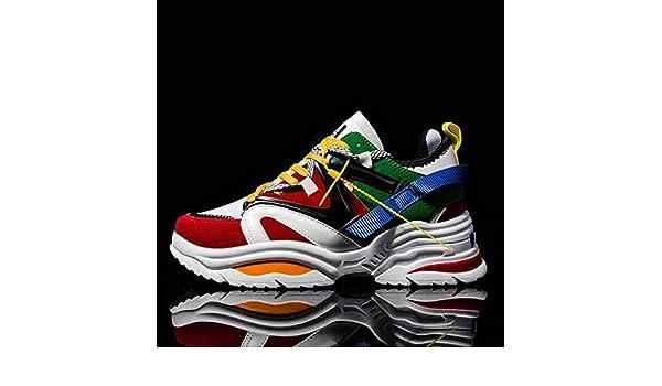 RONGXIE Nouveau Mode Loisirs Vintage Sneaker Camouflage Chaussures De Course pour Hommes Mesh Respirant Sport Chaussure Couple Entra/îneurs Chaussures pour Femmes