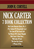 NICK CARTER 7 BOOK COLLECTION. The Solution Of A Remarkable Case (Nick Carter Detective Library 1), The Crime Of The French Café, The Mystery Of St. Agnes' ... WISDOM COLLECTION 4610) (English Edition)