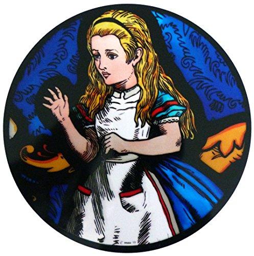 Gebeizt Art-glas-fenster (gebeizt Glas Fenster Art Statische Alice im Wunderland-Alice)