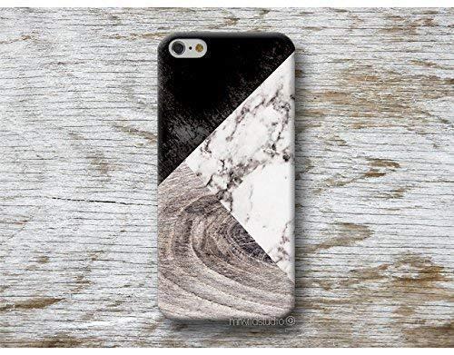 Holz Weiß Marmor Hülle Handyhülle für iPhone X XR XS MAX 4 4s 5 5se se 5C 5S 6 6s 7 Plus iPhone 8 Plus iPod 5 6 7 Ipod