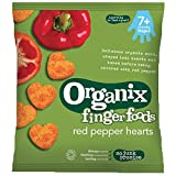 Organix Organic Red Pepper Hearts, 20g