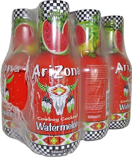 Preisvergleich Produktbild Arizona Cowboy Cocktail Watermelon,  6er Pack (6 x 500 ml)