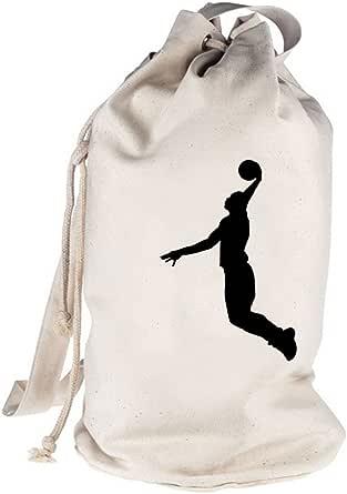Shirtstreet24, BASKETBALL PLAYER, NBA Sport bedruckter Seesack Umhängetasche Schultertasche Beutel Bag