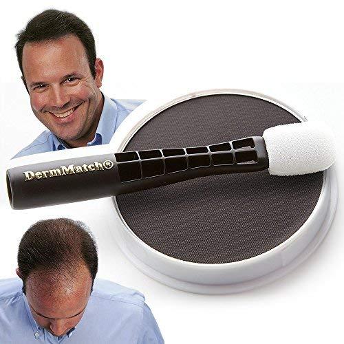 Maquillaje capilar DermMatch - Negro