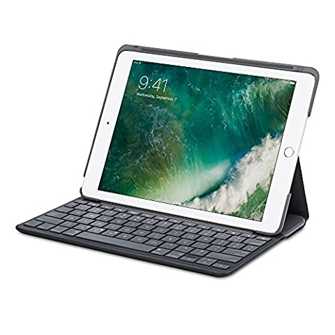 LOGITECH Canvas Keyboard Case for iPad Air 2 - CARBON
