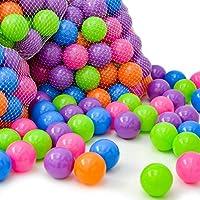 LittleTom 10000 Pelotas de Color Ø 6 cm para llenar Piscinas de Bolas para bebés
