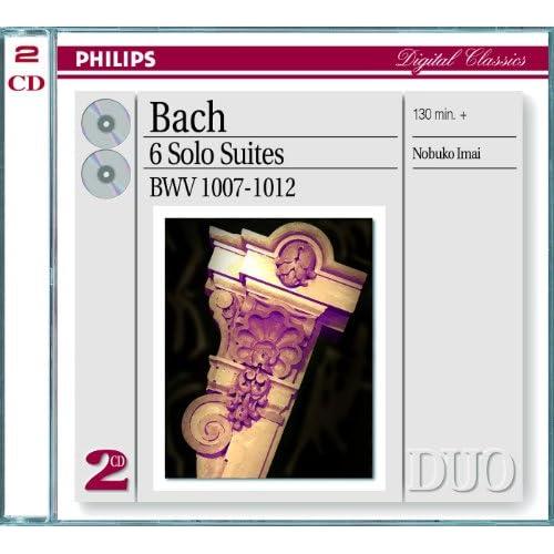 J.S. Bach: Suite for Cello Solo No.2 in D minor, BWV 1008 - Transcribed for viola - 5. Menuet I-II