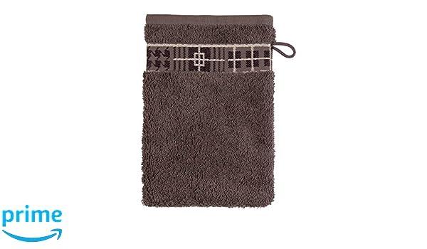 Frottana Fjord Gant de Toilette 15/x 20/cm en 100/% Coton Ash