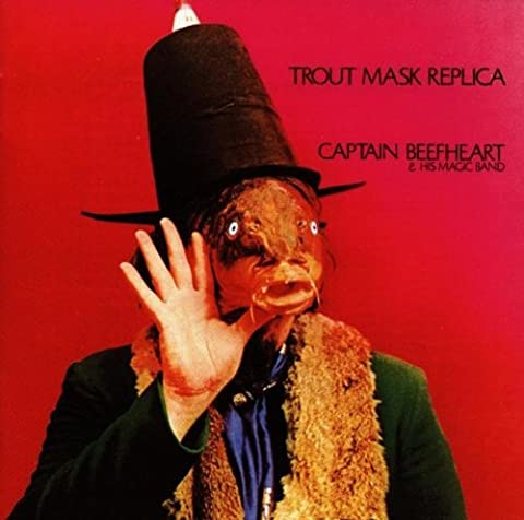 Captain Beefheart Trout Mask - Trout Mask Replica by Captain