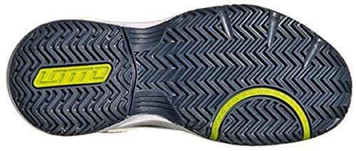Lotto T-Strike Jr L, Chaussures de Tennis Unisexe-Bébé Multicolore - Azul / Verde (Blu Avi / Clov Fl)