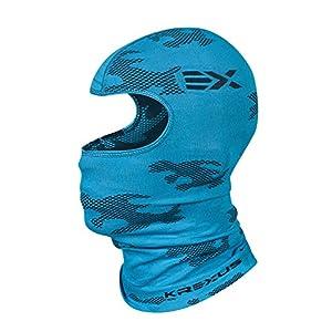 KREXUS CAMO Damen-Herren-Kinder Sturmhaube Balaclava Kopfhaube Thermoaktiv Atmungsaktiv Skiunterwäsche Motorradunterwäsche – Ski – Motorrad