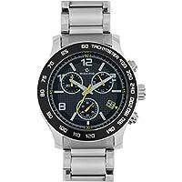 Maxima Analog Silver Dial Men's Watch - 32931CMGI