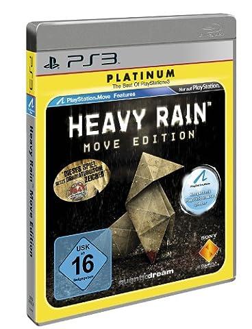 PS 3 Heavy Rain Move Edition - Platinum
