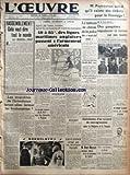 Telecharger Livres OEUVRE L No 9252 du 18 02 1941 RASSEMBLEMENT CELA VEUT DIRE TOUT LE MONDE PAR MARCEL DEAT LES STUPIDITES DE L INTENDANCE FERONT ELLES FERMER LES BOULANGERIES L EMPIRE BRITANNIQUE A L ENCAN APRES LES BASES NAVALES APRES LES MONOPOLES DE MATIERES PREMIERES 40 A 85 DES LIGNES MARITIMES ANGLAISES PASSENT A L ARMEMENT AMERICAIN LA GRANDE REUNION DU R N P AURA LIEU DIMANCHE A WAGRAM LES COMMUNIQUES ALLEMAND ITALIEN SANTANDER RAVAGE PAR UN IMMENSE INCENDIE LE TABLEAU DE CH (PDF,EPUB,MOBI) gratuits en Francaise