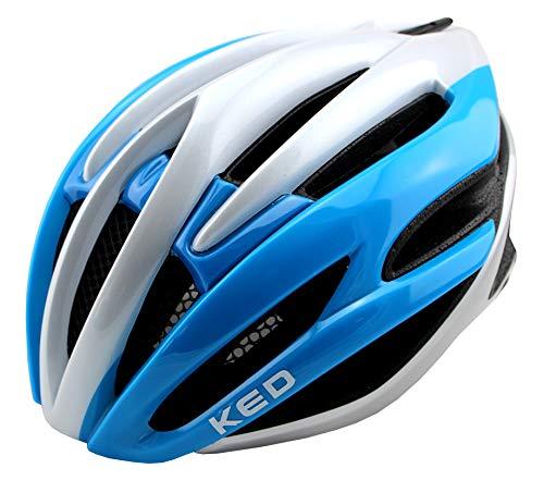 K-E-D Wayron Fahrradhelm für Jugendliche und Erwachsene - Allround-Helm in robuster maxSHELL- Technologie, Quicksafe- und Quickstopp-System - (L (Kopfumfang 57-61 cm),...
